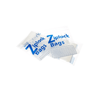 Three ziplock-bags